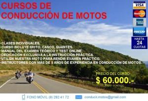 curso de conducción de motos v región