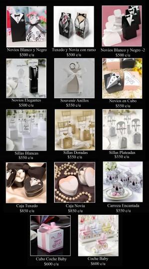 regalos originales, recuerditos de matrimonio y baby shower / souvenirs