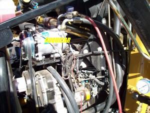 aire acondicionado para maquinaria pesada