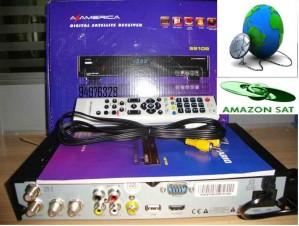 amazonas s810b receptor satelital fta