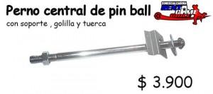 perno central de maquina de juego pin ball/precio: $ 3.900