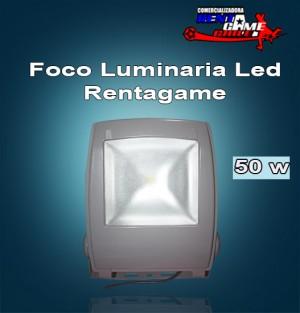 foco luminaria led rentagame / 50 watt $ 40.000