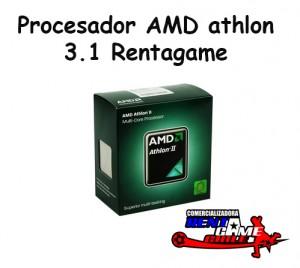 procesador amd athlon 3.1 rentagame/envios a todo chile