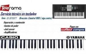 reparacion de teclados electronicos , casio yamaha , korg  226712677