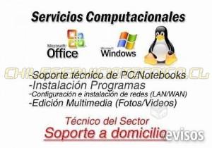 servicios de computación, redes e internet
