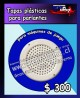 Tapas plásticas para parlantes/máquinas de juego  precio: $ 300