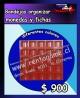 Bandejas organizar monedas y fichas precio: $ 900