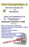 servicio tecnico notebook estacion central