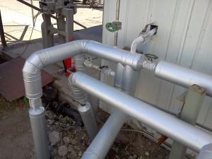 aislaciones en cañerias y tanques  poly - pur  ingenieria termica