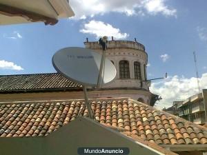 instalacion de antena satelital y actualizaciones orientaciones