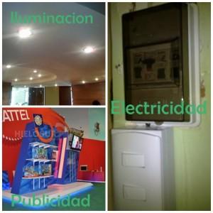 proyecto electrico , reparaciones electricas y mantencion electrica