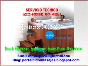 servicio tÉcnico jacuzzi - tinas de hidromasaje - bombas piscina - filtros