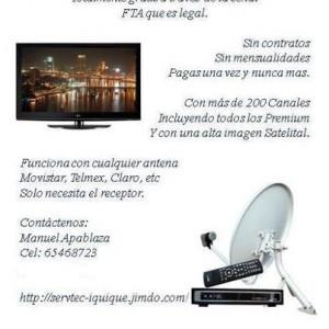 instalacion satelitales 65468723 iquique alto hospicio