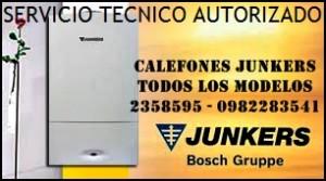 reparacion calefont junkers y toda marca autorizados sec 2358595