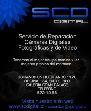 servicio tecnico  de camaras digitales y video