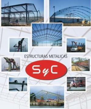 estructuras metalicas syc ltda. galpones, rejas,cobertizos, estructura