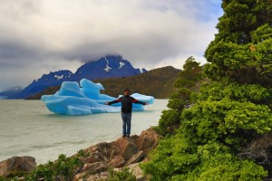visite por el dia la isla de tierra del fuego chile y observe en el