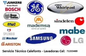 serv. técnico a domicilio calefonts y lavadoras c 71333489 todo viña y