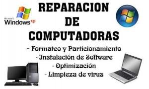 servicio tecnico de computadores y notebooks a domicilio