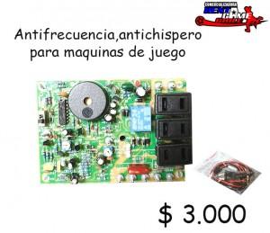 antifrecuencia p/maquinas de juego/precio oferta: $ 3.000