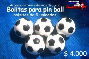 bolitas para pin ball precio: $ 4.000
