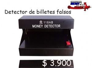 detector de billetes falsos/precio especial: ·$ 3.900