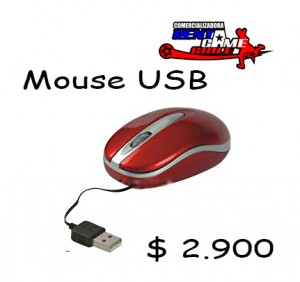 mouse usb/accesorios para computador precio: $ 2.900