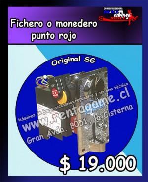fichero o monedero punto rojo/precio: $ 19.000 pesos