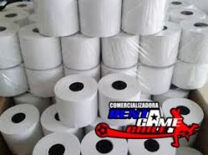rollo de papel rentagame para impresora térmica
