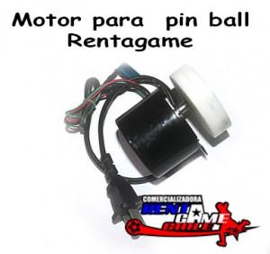 motor para  pin ball rentagame/ envios a todo chile