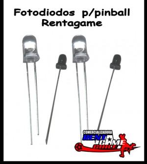 fotodiodos p/pinball rentagame/maquinas de juegoa/envios a todo chile