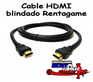 cable hdmi blindado rentagame/maquinas de juegos/envios a todo chile