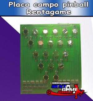 placa campo pinball rentagame / maquinas de juego / pinball