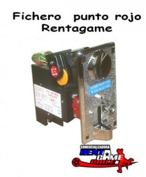 fichero  punto rojo rentagame/maquinas de juego