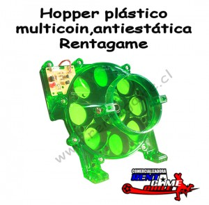 hopper plástico multicoin,antiestática rentagame / maquinas de juego