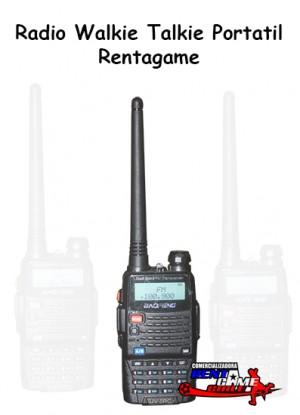 radio walkie talkie portatil rentagame/ articulos electronicos