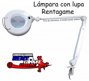 lampara con lupa rentagame/envios a todo chile