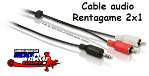 cable audio rentagame 2x1/envios a todo chile/ventas x mayor