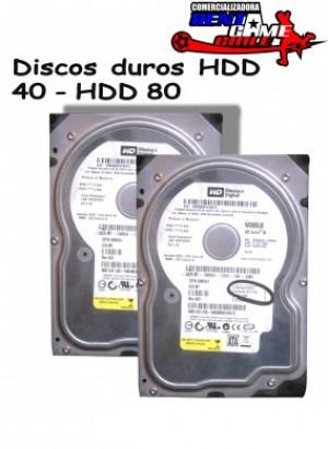 discos duros hdd 40 - hdd 80 rentagame/envios a todo chile