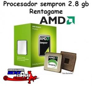procesador sempron 2.8 gb rentagame/envios a todo chile