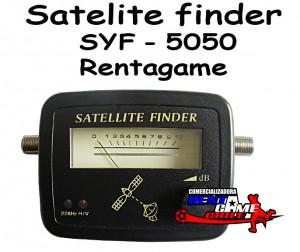 satelite finder syf - 5050 rentagame/envios a todo chile