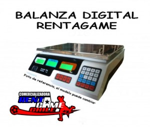 balanza digital rentagame/envios a todo chile/ventas x mayor