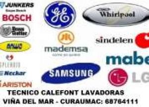técnico calefont splendid - junkers gasfiter lavadoras c 68764111 viña