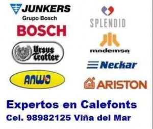 mantención calefon neckar splendid - lavadoras 98982125 viña y curauma