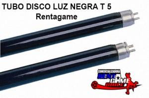 tubo disco luz negra t5  rentagame/envios a todo chile