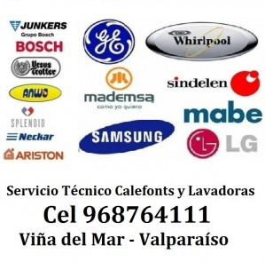 servic calefont neckar mademsa - lavadoras c 968764111 viña d y valpar