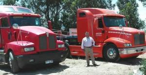arriendo tracto camiones americanos con choferes empresa talquina
