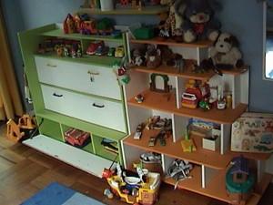 muebles para ni�os - guardarropa - organizador - tocador ni�a