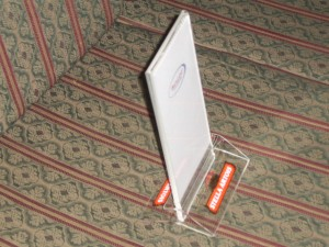 porta folletos, displays, exhibidores de acrilico