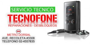 servicio tecnico en telefonia celular ( santiago - recoleta ) tecnofone